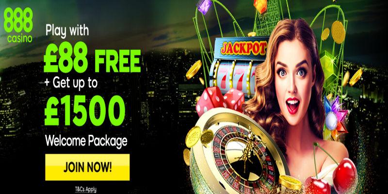 888 Casino бонусы